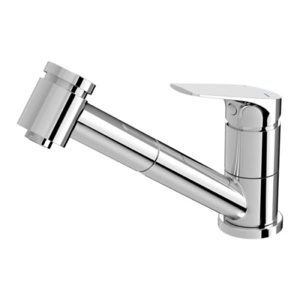Ivy MKII Pull Out Sink Mixer Chrome