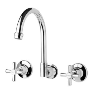 Festival Wall Sink Set Chrome from Phoenix Tapware