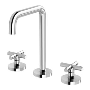 Vivid Slimline Plus Basin Set Chrome