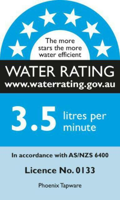 WELS Water Rating