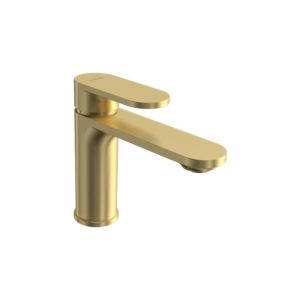 Elli II Basin Mixer Brushed Brass