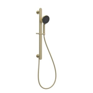 Envy II Sliding Rail with Hand Shower Brushed Brass