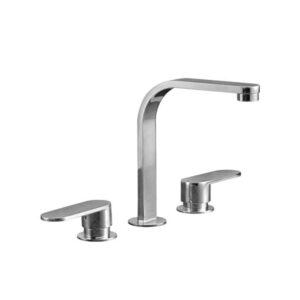 Ellisse Basin/Bath Set Swivel Spout