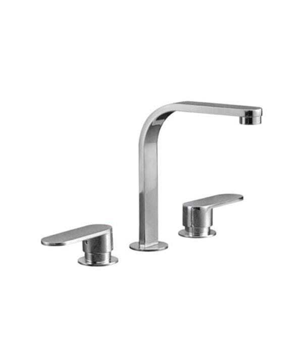 Ellisse Basin/Bath Set Fixed Spout