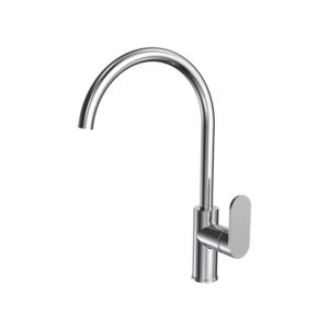 Elli Sink Mixer Round Spout Chrome