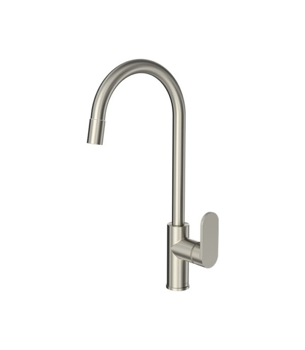 Elli Sink Mixer Pull Out Round Spout Chrome