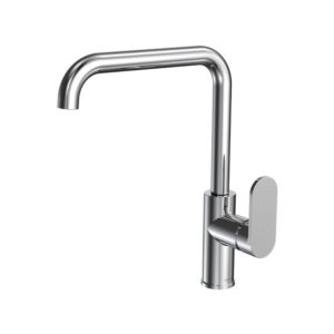 Elli Sink Mixer Square Spout Chrome