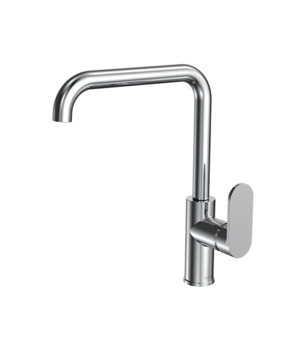 Elli Sink Mixer Square Spout Chrome