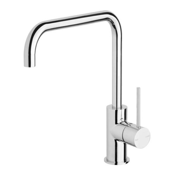 Vivid Slimline Sink Mixer 220mm Squareline Chrome