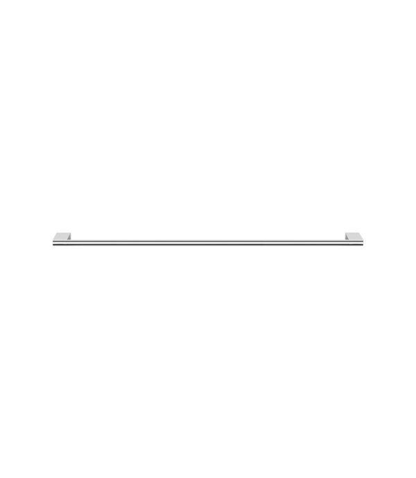 Linfa Single Towel Rail 800mm Chrome
