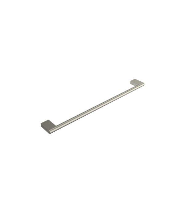 Linfa Single Towel Rail 600mm Brushed Nickel