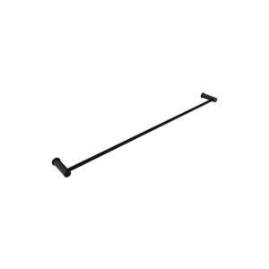 Envy 800mm Single Towel Rail Matt Black