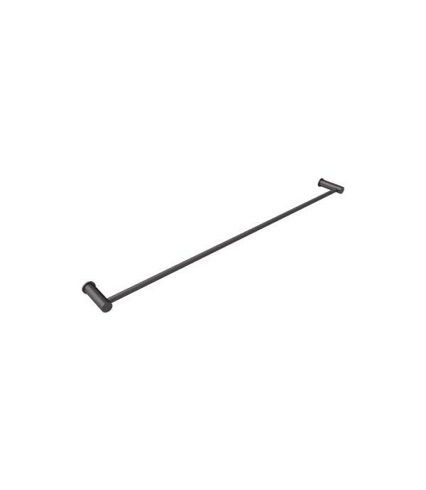 Envy 800mm Single Towel Rail Gun Metal