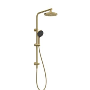 Envy II Shower with Sliding Hand Shower Brushed Brass