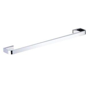 Inis Single Towel Rail 600mm Chrome