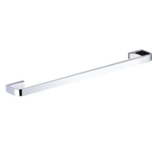 Inis Single Towel Rail 800mm Chrome