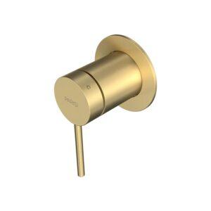 Envy II Wall Mixer Bath Basin Brushed Brass
