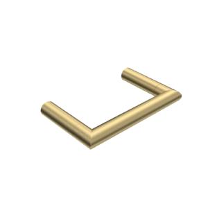 Tondo Single Toilet Roll Holder Brushed Brass