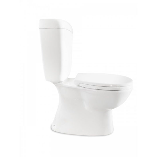 Lillie Close Coupled Toilet Suite Gloss White